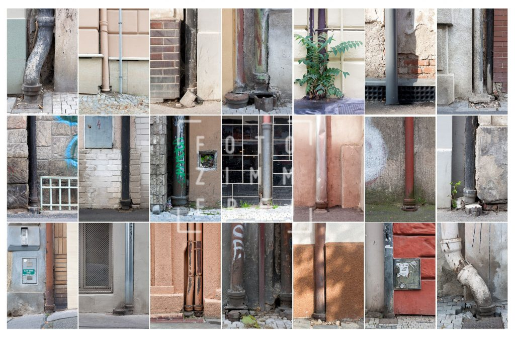 downpipe photographs collection 1