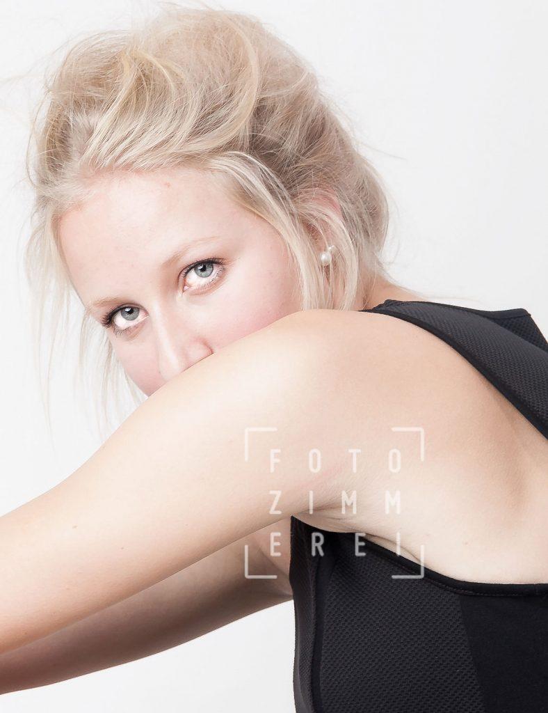 Portraitfotografiejunge Frau